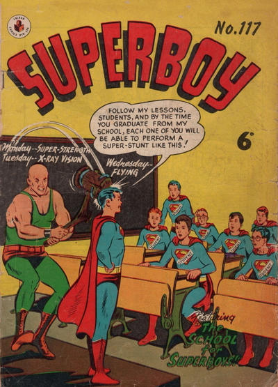 Cover for Superboy (K. G. Murray, 1949 series) #117