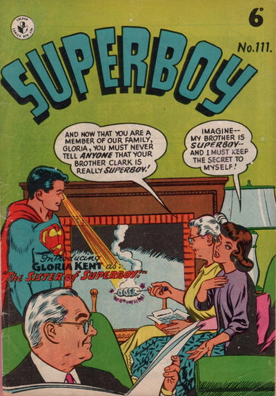 Cover for Superboy (K. G. Murray, 1949 series) #111