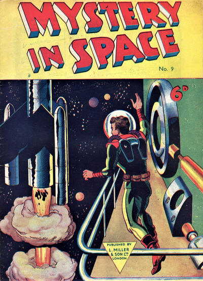Cover for Mystery in Space (L. Miller & Son, 1955 ? series) #9