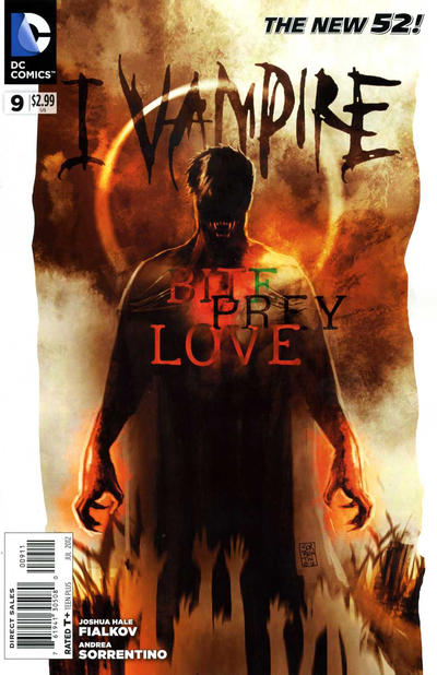 Cover for I, Vampire (DC, 2011 series) #9