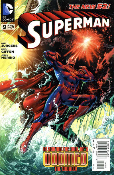 Cover for Superman (DC, 2011 series) #9