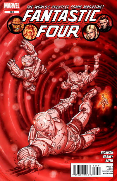 Cover for Fantastic Four (Marvel, 2012 series) #606
