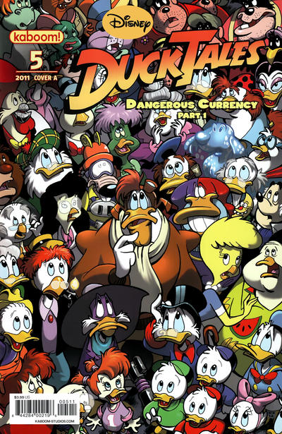 Cover for DuckTales (Boom! Studios, 2011 series) #5 [Cover B]