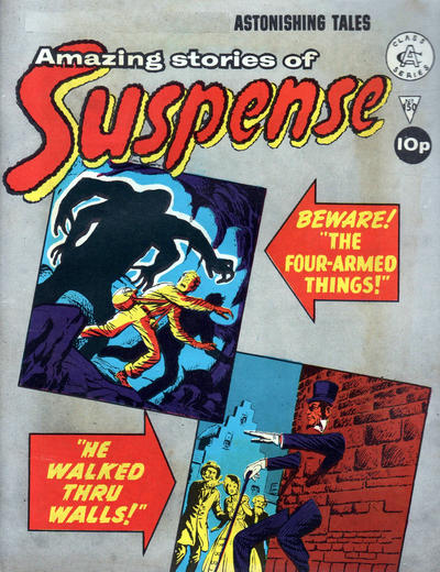 Cover for Amazing Stories of Suspense (Alan Class, 1963 series) #150