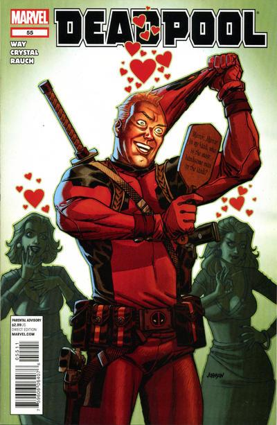 Cover for Deadpool (Marvel, 2008 series) #55