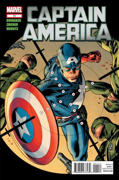 Cover for Captain America (Marvel, 2011 series) #11