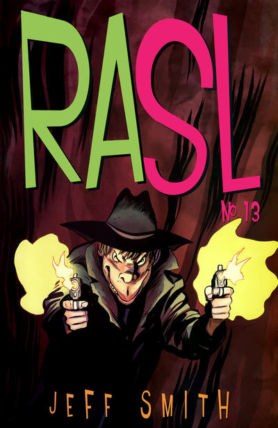Cover for RASL (Cartoon Books, 2008 series) #13