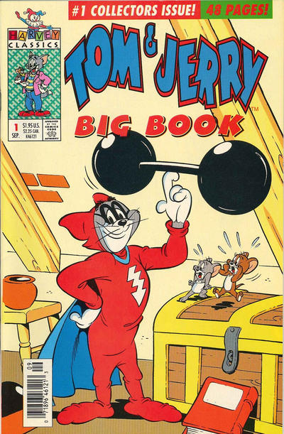 Cover for Tom & Jerry Big Book (Harvey, 1992 series) #1 [direct sales]