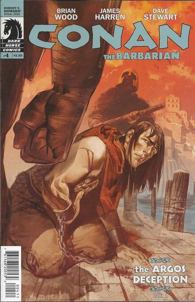 Cover for Conan the Barbarian (Dark Horse, 2012 series) #4 [91]