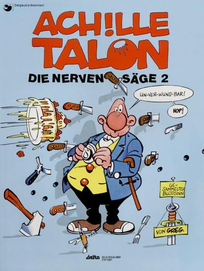 Cover for Achille Talon (Egmont Ehapa, 1992 series) #2 - Die Nervensäge 2