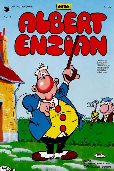 Cover for Albert Enzian (Egmont Ehapa, 1976 series) #2