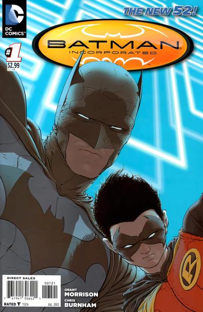 Cover for Batman Incorporated (DC, 2012 series) #1 [Chris Burnham Cover]
