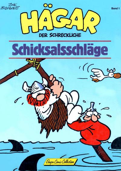 Cover for Hägar (Egmont Ehapa, 1989 series) #1