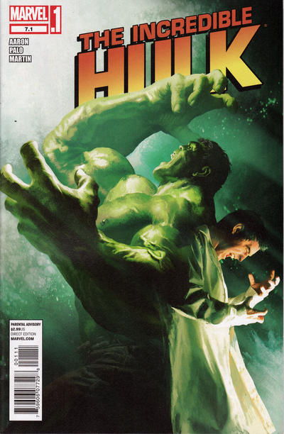 Cover for The Incredible Hulk (Marvel, 2011 series) #7.1