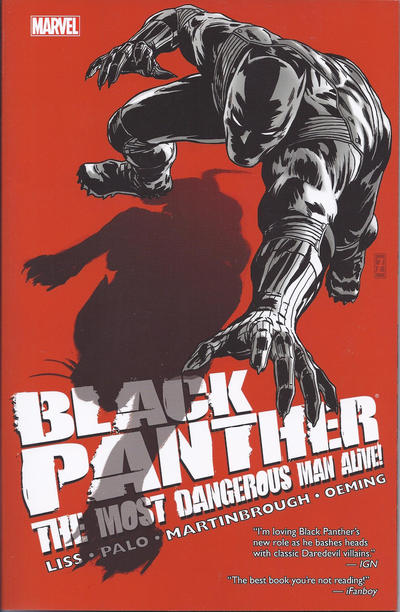Cover for Black Panther: The Most Dangerous Man Alive — The Kingpin of Wakanda (Marvel, 2012 series)