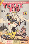 Cover for Texas Kid (Horwitz, 1950 ? series) #12