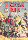 Cover for Texas Kid (Horwitz, 1950 ? series) #14
