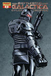 Cover for Battlestar Galactica: Cylon Apocalypse (Dynamite Entertainment, 2007 series) #1 [Cover B Pat Lee]