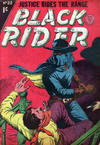 Cover for Black Rider (Horwitz, 1954 series) #22
