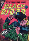 Cover for Black Rider (Horwitz, 1954 series) #20