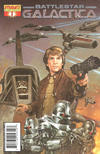 Cover for Classic Battlestar Galactica (Dynamite Entertainment, 2006 series) #1 [1D]