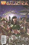 Cover for Classic Battlestar Galactica (Dynamite Entertainment, 2006 series) #2 [2B]