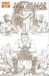 Cover Thumbnail for Battlestar Galactica Zarek (2006 series) #3 [3D]