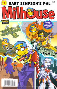 Cover Thumbnail for Simpsons One-Shot Wonders: Bart Simpson's Pal Milhouse (Bongo, 2012 series) #1 [Newsstand Edition]