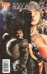 Cover Thumbnail for Battlestar Galactica (Dynamite Entertainment, 2006 series) #1 [Billy Tan Cover]