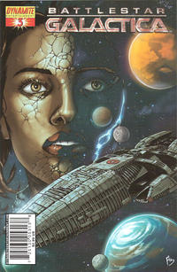 Cover Thumbnail for Battlestar Galactica (Dynamite Entertainment, 2006 series) #3 [Cover C - Adriano Batista]