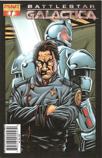 Cover Thumbnail for Battlestar Galactica (Dynamite Entertainment, 2006 series) #7 [Cover A - Nigel Raynor]