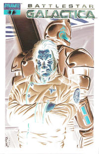 Cover Thumbnail for Battlestar Galactica (Dynamite Entertainment, 2006 series) #7 [Cover F - Negative Art]