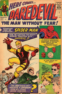 Cover Thumbnail for Daredevil (Marvel, 1964 series) #1 [British]