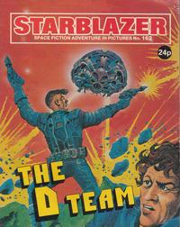 Cover Thumbnail for Starblazer (D.C. Thomson, 1979 series) #162