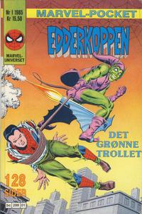 Cover Thumbnail for Marvel-pocket (Semic, 1985 series) #1/1985