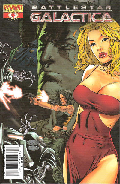 Cover for Battlestar Galactica (Dynamite Entertainment, 2006 series) #4 [Cover E -Virgin Art]