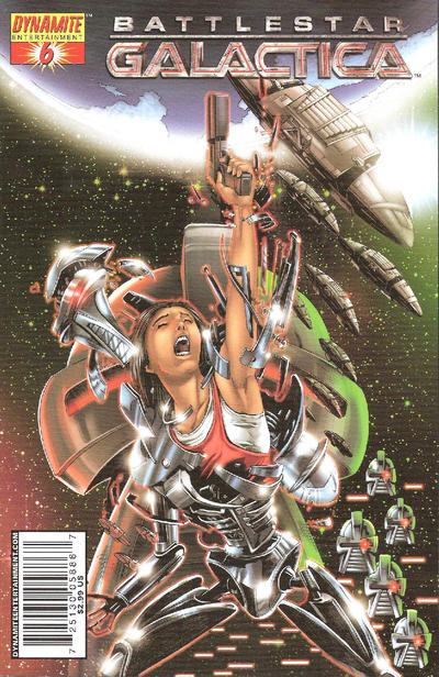 Cover for Battlestar Galactica (Dynamite Entertainment, 2006 series) #6 [6D]
