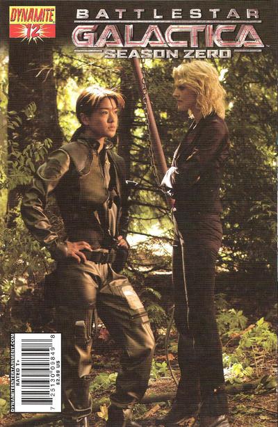 Cover for Battlestar Galactica: Season Zero (Dynamite Entertainment, 2007 series) #12
