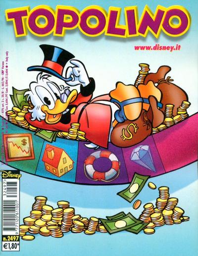 Cover for Topolino (The Walt Disney Company Italia, 1988 series) #2497