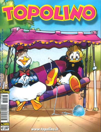 Cover for Topolino (The Walt Disney Company Italia, 1988 series) #2498