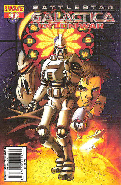 Cover for Battlestar Galactica: Cylon War (Dynamite Entertainment, 2009 series) #1 [Cover B Raynor]