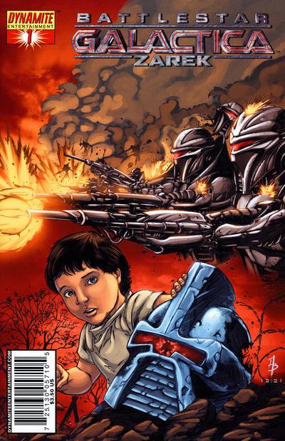 Cover for Battlestar Galactica Zarek (Dynamite Entertainment, 2006 series) #1 [1B]
