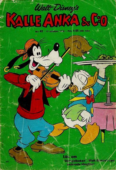Cover for Kalle Anka & C:o (Hemmets Journal, 1957 series) #42/1968