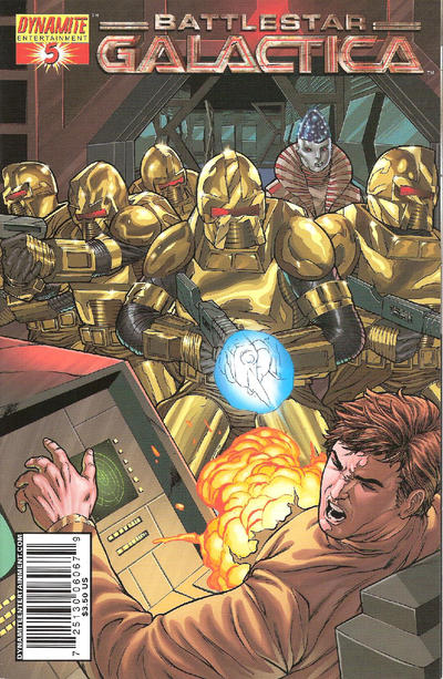 Cover for Classic Battlestar Galactica (Dynamite Entertainment, 2006 series) #5