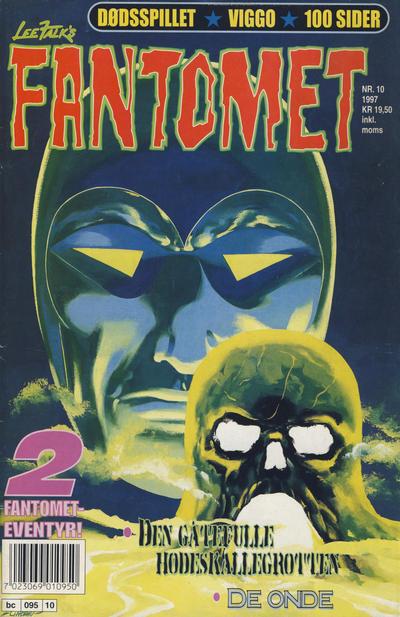 Cover for Fantomet (Semic, 1976 series) #10/1997