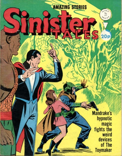 Cover for Sinister Tales (Alan Class, 1964 series) #177