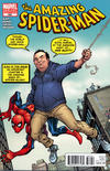 Cover Thumbnail for The Amazing Spider-Man (1999 series) #669 [You're Spider-Man: Dan Slott Variant Cover by Todd Nauck]