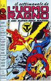 Cover for Il Settimanale de L'Uomo Ragno (Editoriale Corno, 1981 series) #21