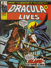Cover for Dracula Lives (Marvel UK, 1974 series) #21