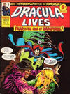 Cover for Dracula Lives (Marvel UK, 1974 series) #30